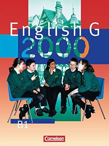 English G 2000 - Ausgabe B / Band 1: 5. Schuljahr - Schülerbuch,