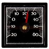 Lantelme Bimetall Analog Autothermometer selbstklebend Klebepad Auto KFZ PKW LKW Innen Thermometer 2303