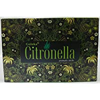 Goloka Räucherstäbchen Lemongrass 12Packungen von 15Gramm C/U (Citronella). preisvergleich bei billige-tabletten.eu