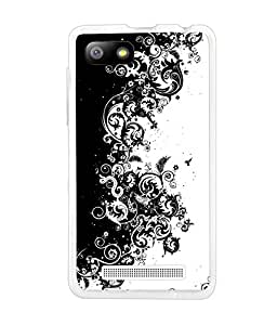 LAVA FLAIR P3 SILICON BACK COVER BY instyler
