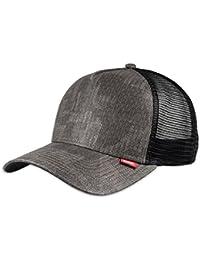 DJINNS TRUCKER CAP - HFT - PIXEL CAMO - BLACK