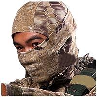 RoyMan Pasamontañas Máscara Camuflage Cara Completa Militar Táctico Capucha De Ninja Caza Ciclismo Máscara Camuflaje - Desierto
