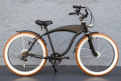 26 beachcruiser cruiser fahrrad shimano 7 gang nabendynamo schwalbe schwarz pro. Black Bedroom Furniture Sets. Home Design Ideas