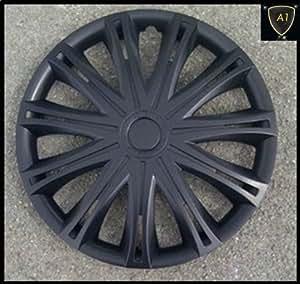 "TOYOTA YARIS (20006 ON) 14"" Spark Black Wheel Trims/Hub Caps - Set of 4"