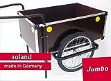 """Anhänger Roland Jumbo 20\"""" Doppeldeichsel mit Ständer, ohne Deckel 500666"""
