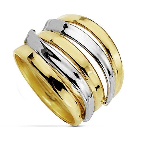 Multiband-Ring 18 Karat Bicolor [AA7254]