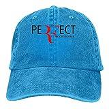 Wdskbg Katie P. Hunt Roger Federer Unisex Plain Cool Adjustable Denim Baseball Cap Fashion29