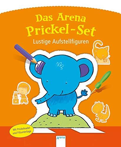Lustige Aufstellfiguren: Das Arena Prickel-Set