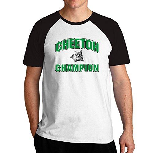 Eddany Cheetoh champion Raglan T-Shirt - Cheetoh Katzen
