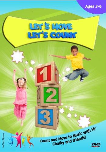 Mathematik für Kleinkinder–Mathematik Zählen und Active Learning DVD–Let 's Move 'Let.