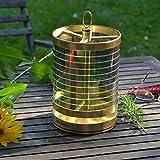 Lampe de table +SOL, laiton de .STOOL   Indoor & Outdoor   Lampe avec écran solaire, LED   auto-suffisante   De haute qualité et très durable   luminosité réglable