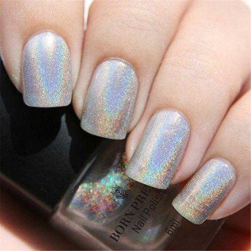 Esmalte uñas Born Pretty purpurina efecto