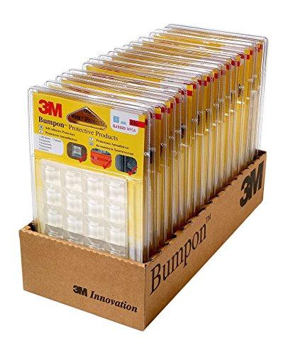 Preisvergleich Produktbild 3M Bumpon SJ5323BL Elastikpuffer, Transparent (24-er Pack)