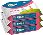 Little's Soft Cleansing Baby Wipes with Aloe Vera, Jojoba Oil and Vitamin E (80 wipes) pack