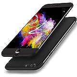 Für iPhone 6S 4.7 Zoll Hülle, Girlyard 3 in 1 Ultra Dünn Premium Hart-PC Schale 360 Grad Full Body Schutzhülle Anti-Kratzer Stoßfest Bumper Handyhülle für Apple iPhone 6/iPhone 6S - Schwarz
