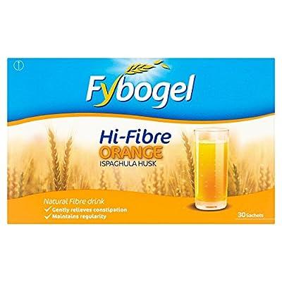 Fybogel Hi-Fibre Orange flavour, 30 sachets by Reckitt Benckiser