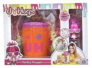 U Hugs - Playset con muñeca de Color Rosa (Giochi Preziosi UHU15010)
