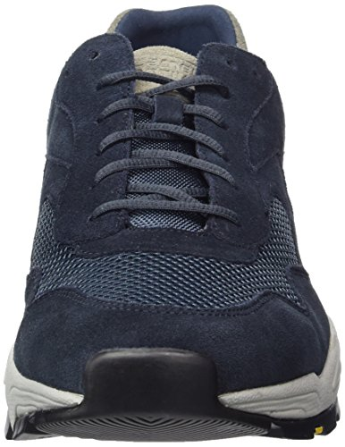 camel active Herren Evolution 32 Low-Top Blau (grey Kombi 02)