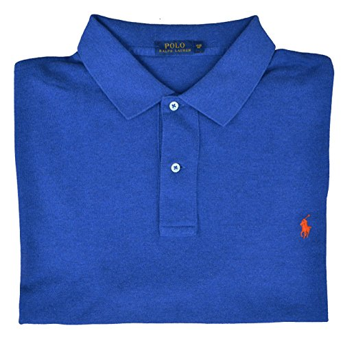 Ralph Lauren Big & Tall Poloshirt Polo Blau Royal Beach Größe 4XB (Polo And Big Tall Lauren Ralph)