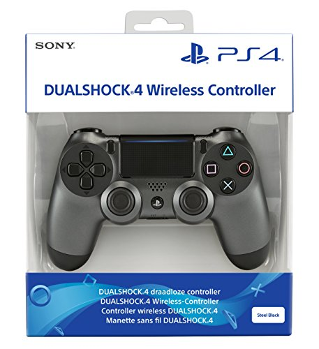 - 51XaeFe2buL - PlayStation 4 – DualShock 4 Wireless Controller, Steel Black (2018)