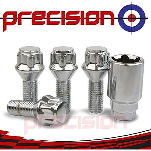 12x1.25 BUTZI Anti Theft Locking Wheel Nuts Bolts /& 2 Keys for Nissan Qashqai