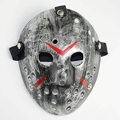 ke Freddy Vs Jason Costume Ball Maske Horror Harz Weihnachten Maske ()