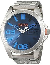 Hugo Boss Orange 1513382 - Reloj de pulsera analógico para hombre (correa de acero inoxidable)