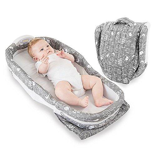Brisk- Krippe Bett Im Bett Neugeborener Schlafkorb Multifunktion Tragbar Zusammenklappbares Kinderbett Reise-Babybett