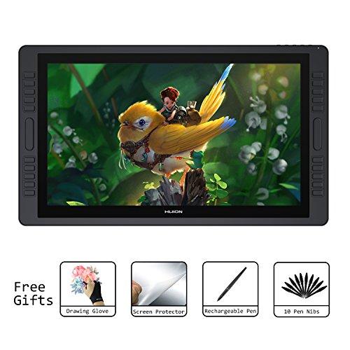 Digitaler HD Stift-Display Zeichenstiftmonitor mit 20 ExpressKeys und Touch Bar 8192 Drucksensitivität 21,5 Zoll Huion KAMVAS GT-221 Pro