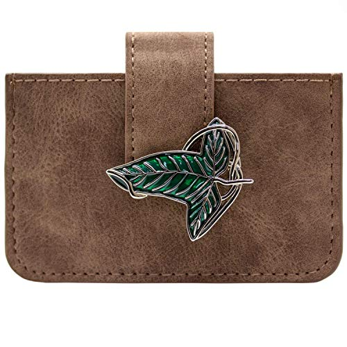 Lord of the Rings Elven Blatt Kartenhalter Braun