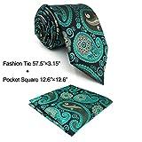 Shlax&Wing Corbatas Para Hombres Cachemir Tie Multicolor Nuevo Design único 57.5' 63' Long
