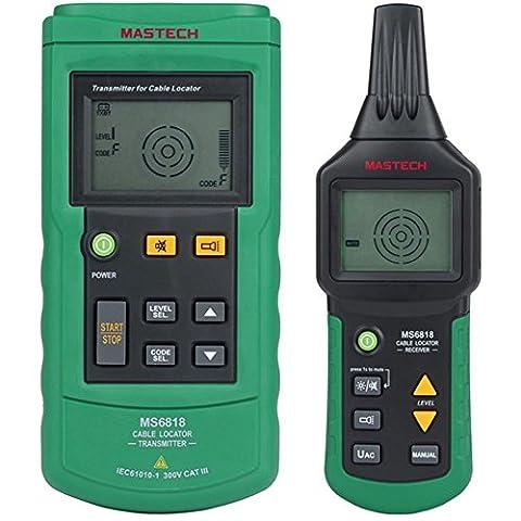 Draht Kabel Tracker 12~ 400V AC/DC Rohr Locator Netzwerk Telefon Detektor Tester (3 Lb Paket)