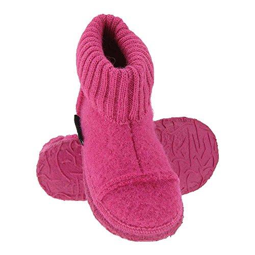 GALLUX - Hausschuhe flache Pantoffeln für die ganze Familie Rosa