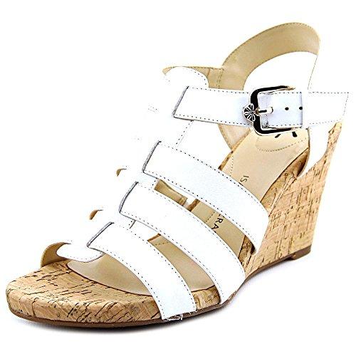 isaac-mizrahi-sweet-femmes-us-55-blanc-sandales-compenses