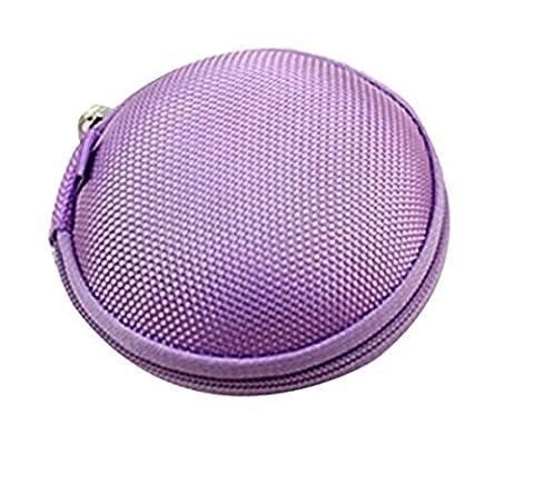 Stillshine - Mini Portable lovely Coin Purse Headphone Earbuds Case Bag Holder With Zipper Gift