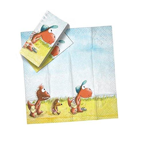 Preisvergleich Produktbild Der kleine Drache Kokosnuss - Drachentücher: Taschentücher