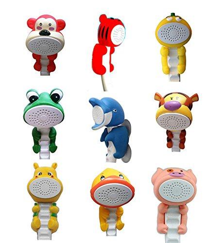 Montiert Tier (Bazaar Tier-Comic Wand-Duschkopf Handtasche Kinder montiert Dusche Spielzeug mit Saugnapf)
