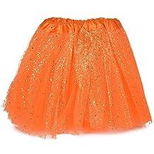 fc58253d18 MUNDDY Tutu Elastico Tul 3 Capas 30 CM de Longitud para niña Bebe Distintas Colores  Falda