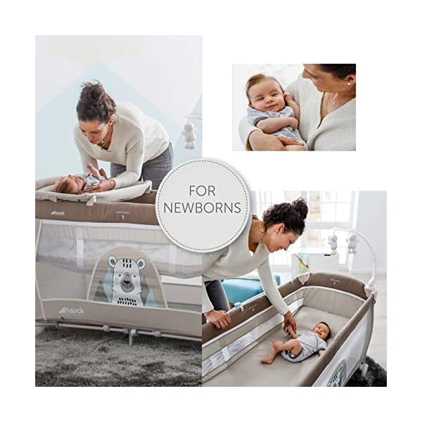 Lettino da Campeggio Hauck Babycenter Friend Hauck Brand: Hauck. Folds very easily and very quickly Travel bed with changing table, ideal for changing babies 3