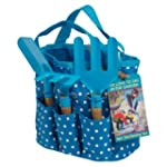 Childrens Gardening Set In Blue Bag