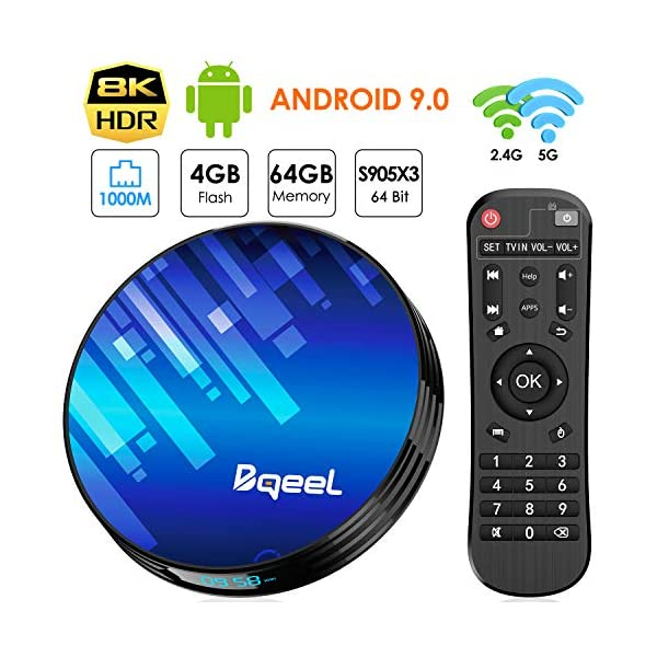 Bqeel-Android-90-4G64G-Amlogic-S905X3-Android-TV-Box-Y8-Max-WiFi-24G5G-1000Mbps-LAN-Box-Android-TV-8K-Bluetooth-40-USB-30