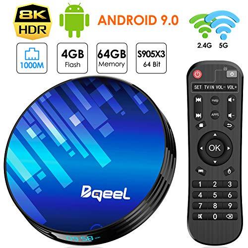 Bqeel Android TV Box Smart TV Box Y8 -