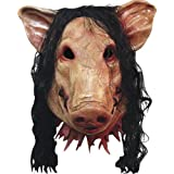 SAW - HORROR PIG MASK DELUXE (máscara/ careta)