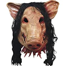 SAW - HORROR PIG MASK DELUXE (máscara/ careta)