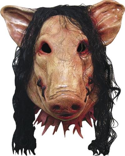 Saw Kostüm Pig - Original Saw Pig - Horrormaske