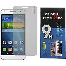 Fologar Protector de Pantalla Cristal Templado para Huawei Ascend G7