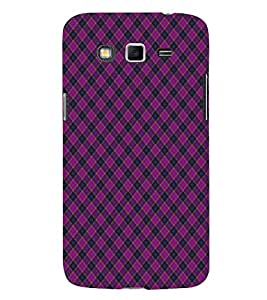 EPICCASE royal pink Mobile Back Case Cover For Samsung Galaxy Grand Max & Grand 3 (Designer Case)