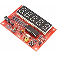 SainSmart 21-010-340 Crystal Oscillator Frequency Counter Meter, DIY Kits, 1Hz-50MHz - ukpricecomparsion.eu