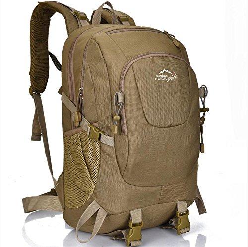 BM Ultra leggero zaino tattico antistrappo, portando loro zaini 35L litro outdoor zaino , brown Khaki