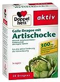 Doppelherz Galle-Dragee mit Artischocke, 2er Pack, 2 x 50 Tabletten